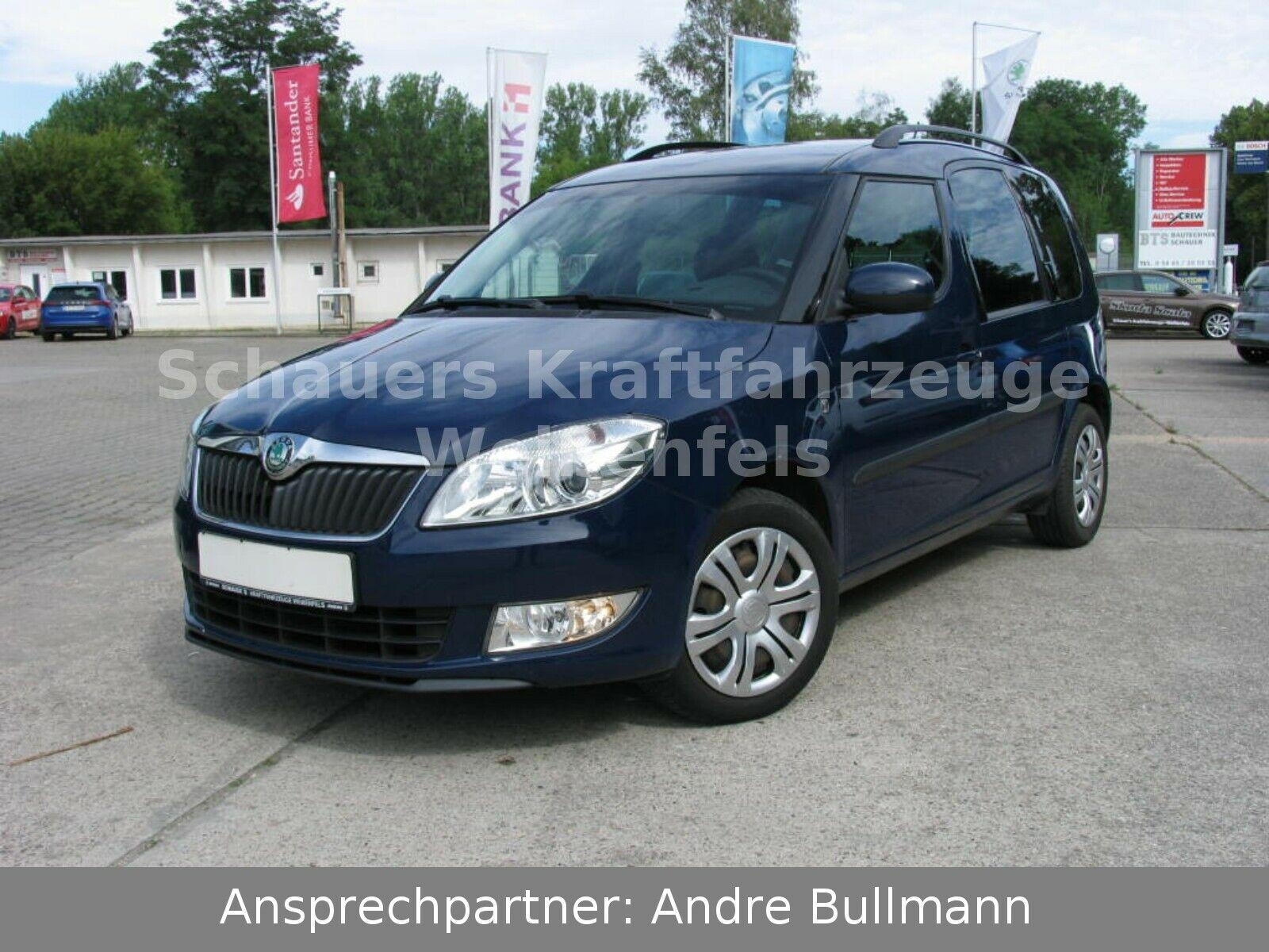 SKODA Roomster 1.4 16V AmbitionPlus Edition *Klima*
